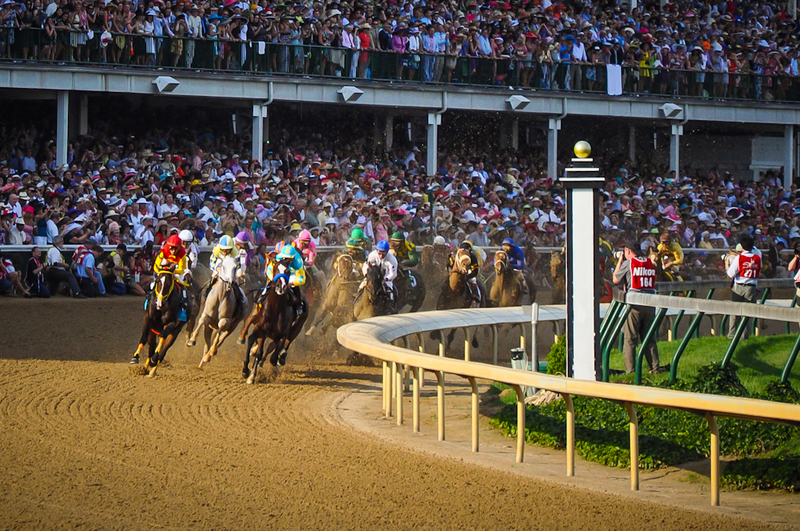 kentucky derby clubhouse view