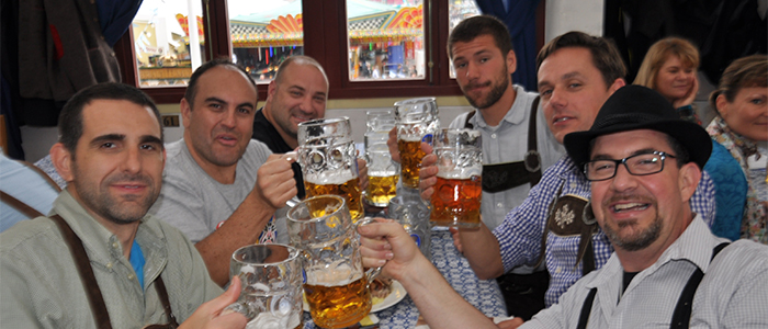 Bucket List Eventsat the Hofbrau - 2014