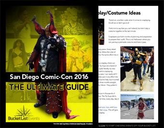The Ultimate Guide to Comic-Con 2016 San Diego