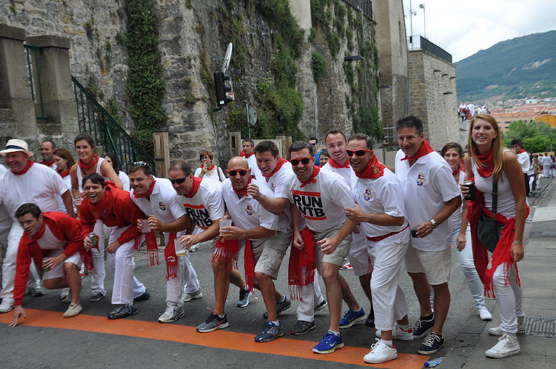 Pamplona Spain Running of the Bulls