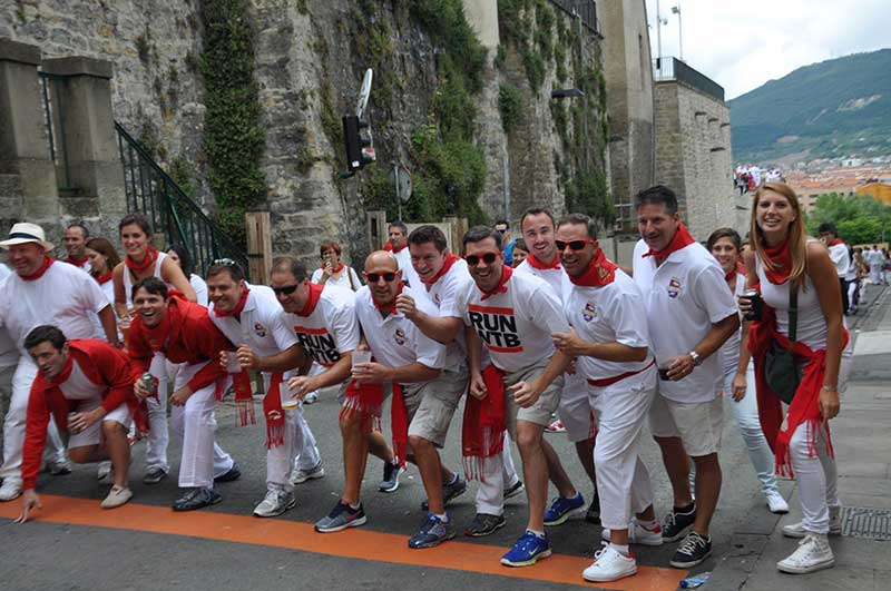 Pamplona Running of the Bulls Starting Lineup