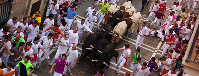 Estafeta Running of the Bulls
