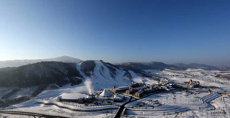 PyeongChang Mountain Resort for Winter Games