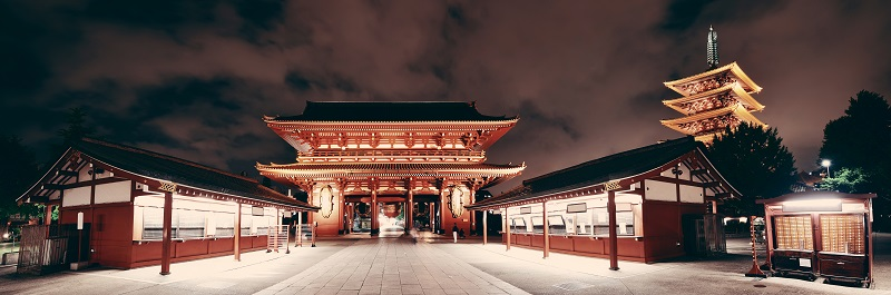 what to do in tokyo temples