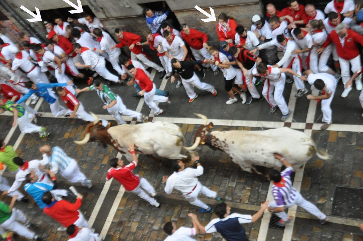 How to run with the bulls in Spain