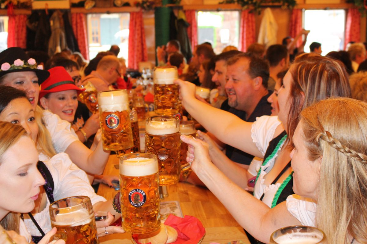 Oktoberfest Tent Reservations and hotels