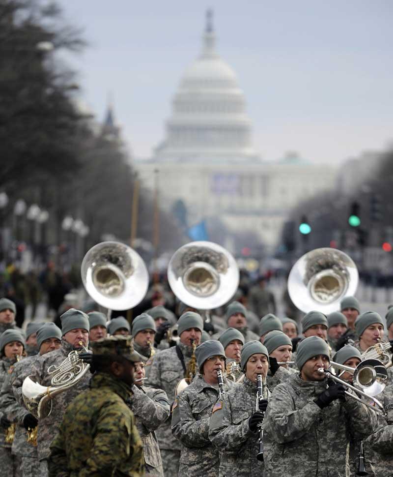 Inauguration Military Parade