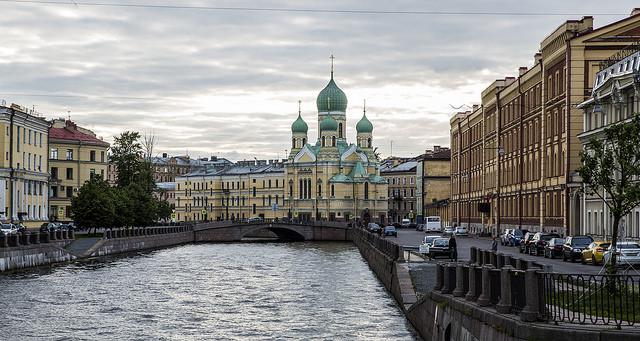 St Petersburg World Cup