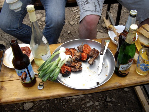Russian Dacha Food