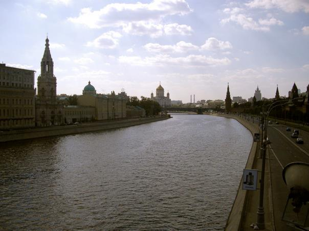 Moskva River Moscow
