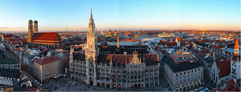 Munich in Spring