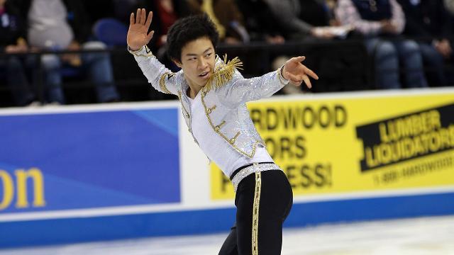 Nathan Chen Figure Skating Pyeongchang