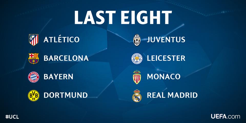 2017 Champions League Quarter Finals