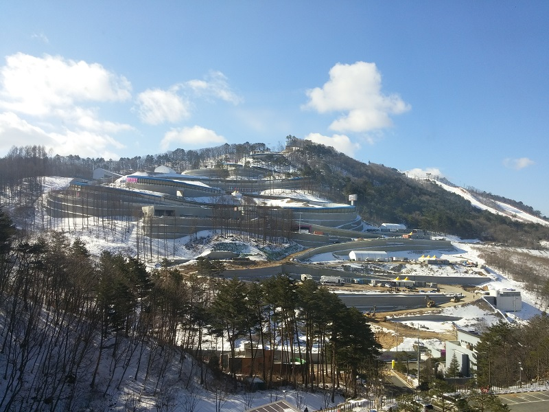Pyeongchang Ski Slopes