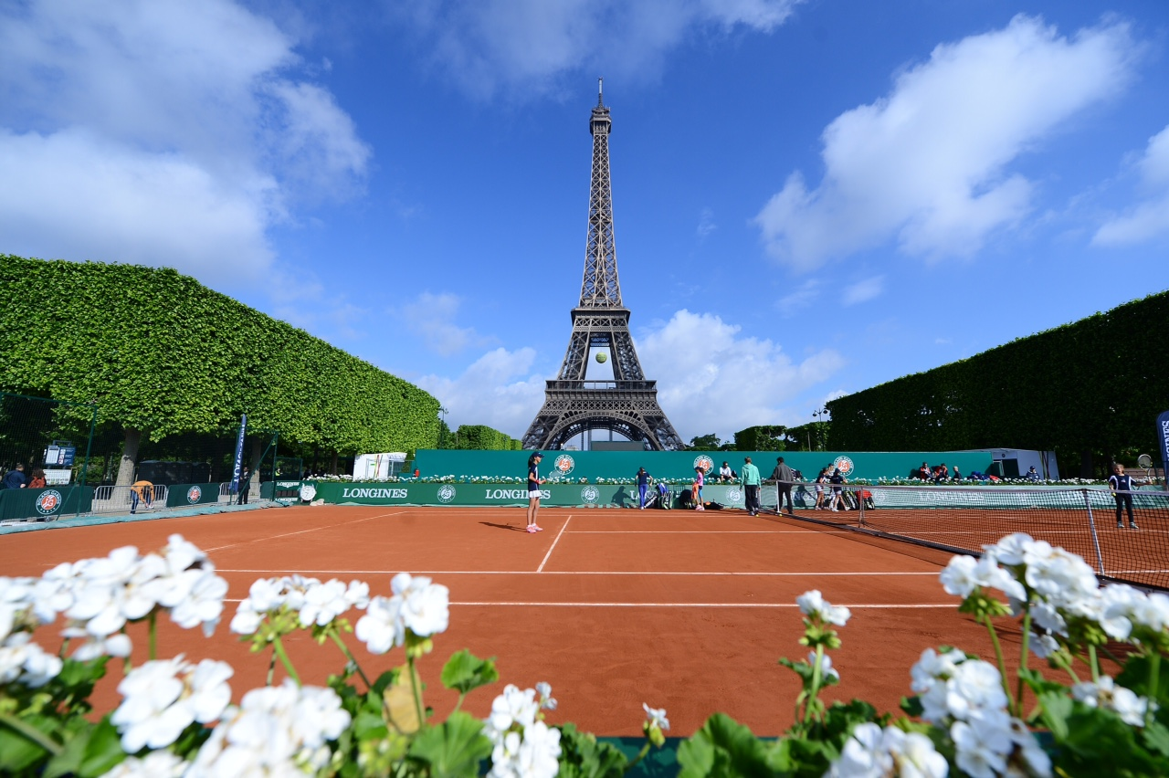French Open Location Paris France