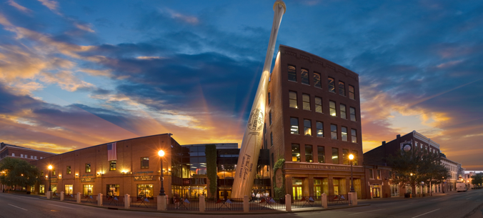 Things to do in Louisville: The Louisville Slugger Museum