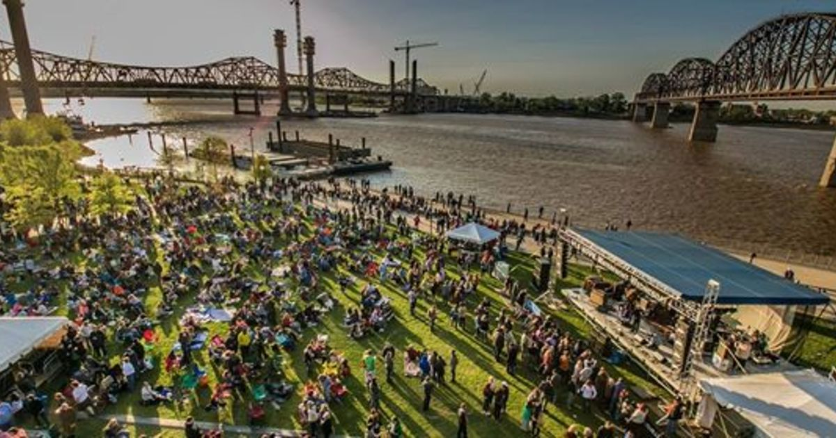 Things to do in Louisville KY: Waterfront Park