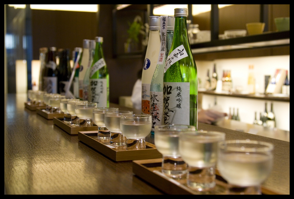 cool things to do in tokyo sake tasting