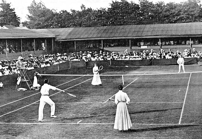 Mixed Doubles and the History of Wimbledon