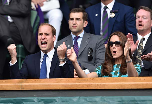 Wimbledon Royal Box