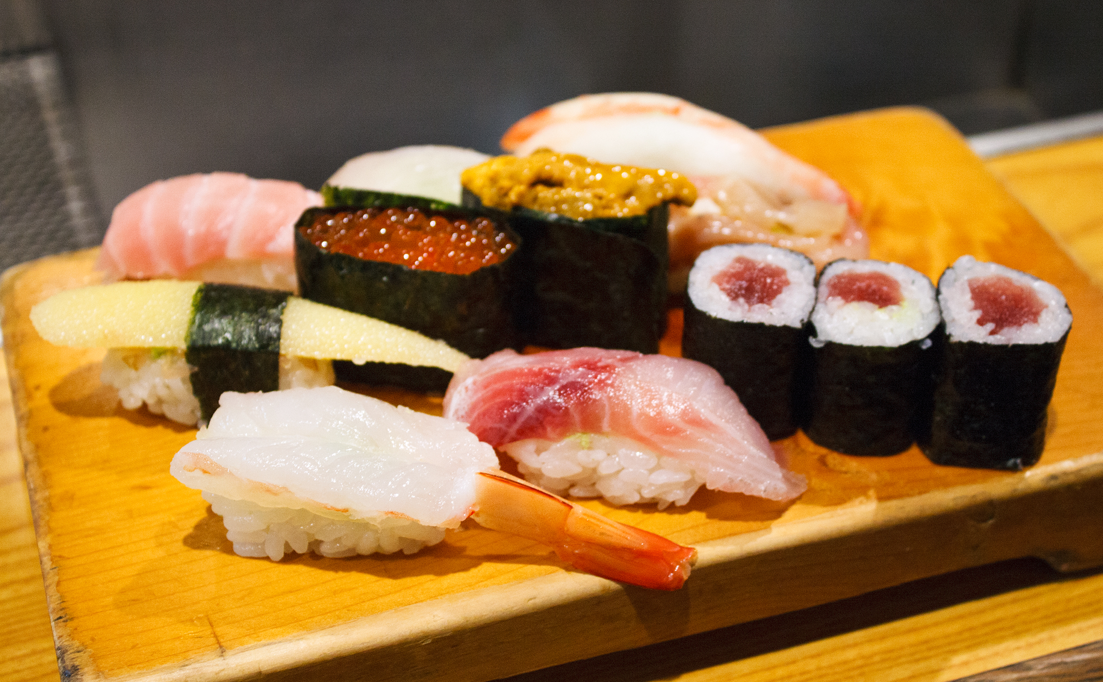 what to do in tokyo sushi