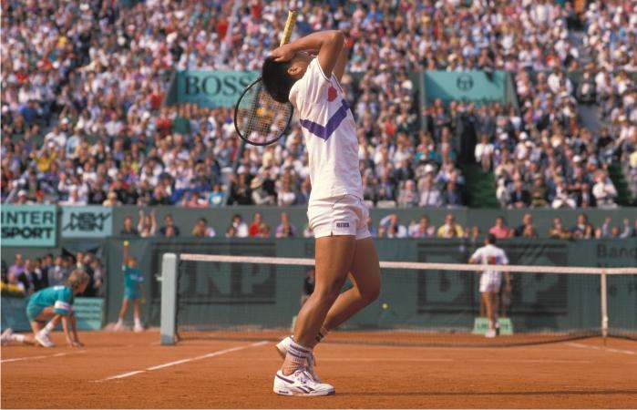 Chang v Lendl French Open