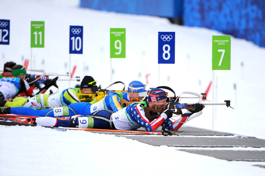 Winter Olympics Biathlon
