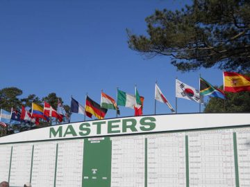 Masters Scoreboard