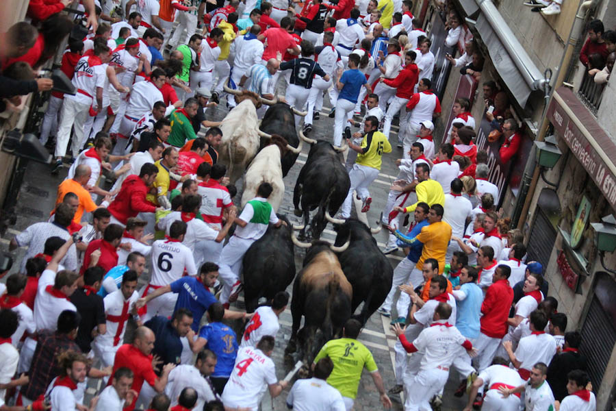 Running of the Bulls Streets
