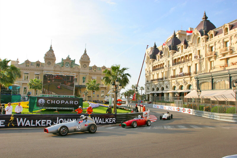 Circuit de Monaco and Casino
