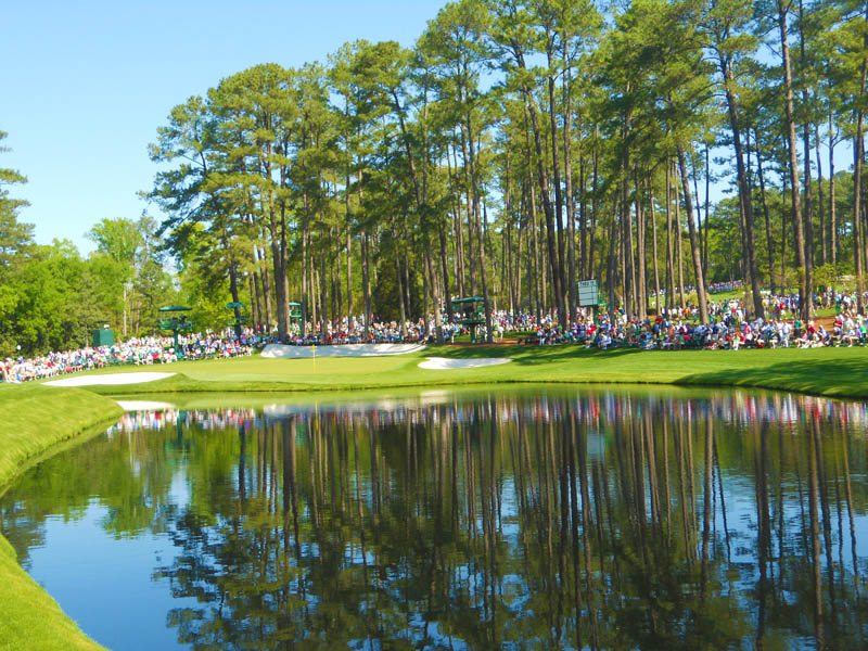 the masters waterhole pond augusta georgia