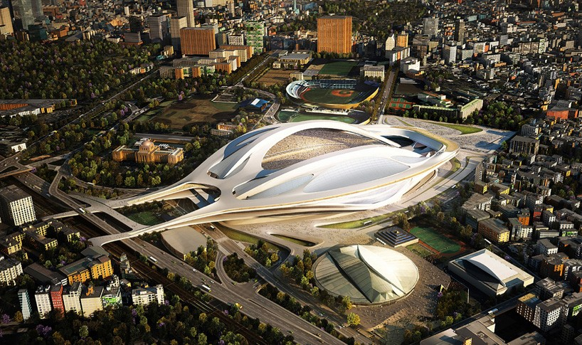 Zaha Hadid Japan Stadium