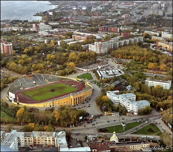yekaterinburg central stadium russia world cup
