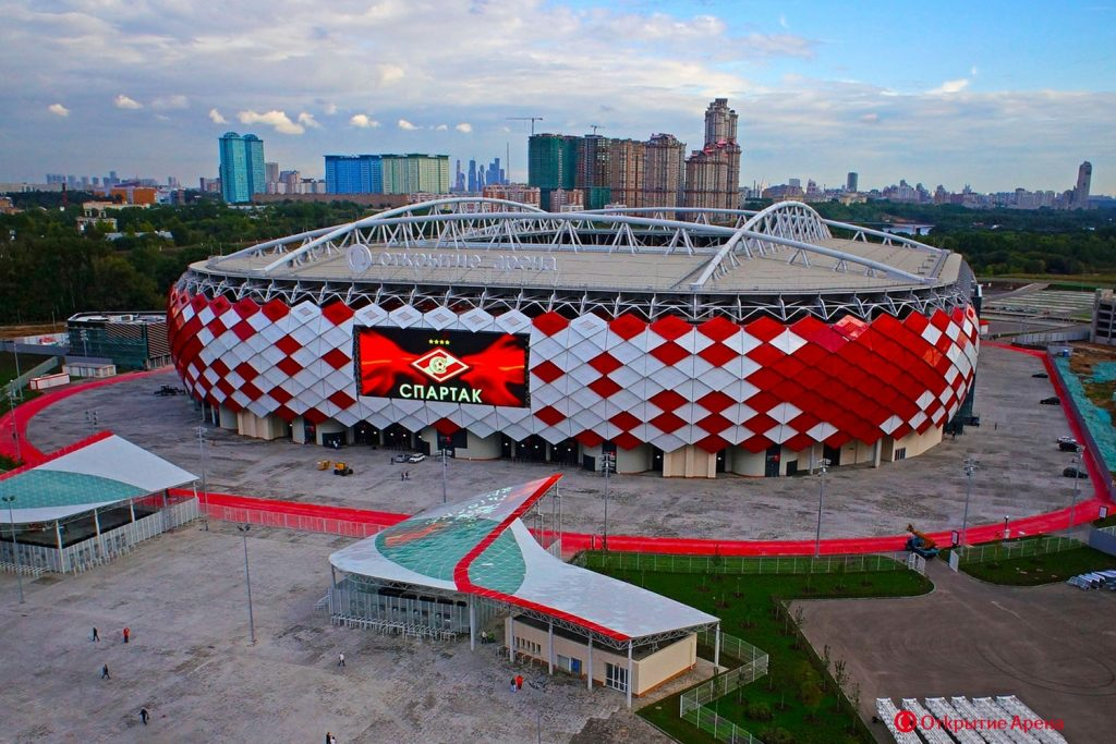 Spartak Russia world cup stadiums