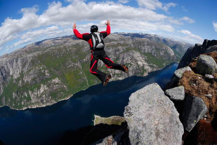 Base Jumping Bucket List