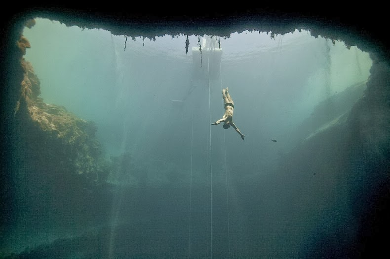 Blue Hole Diving Crazy Bucket List Ideas