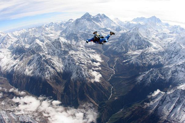 Skydive Everest Crazy Bucket List Ideas