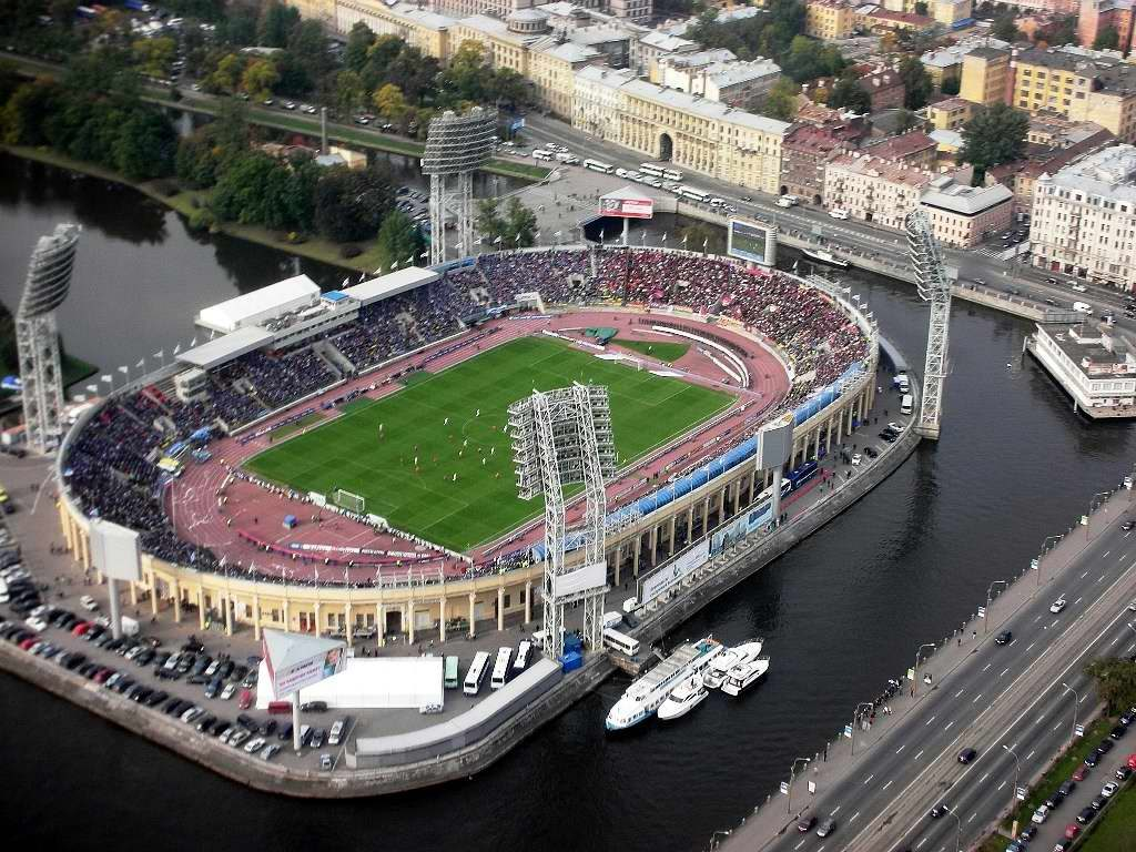 russia world cup stadiums st petersburg