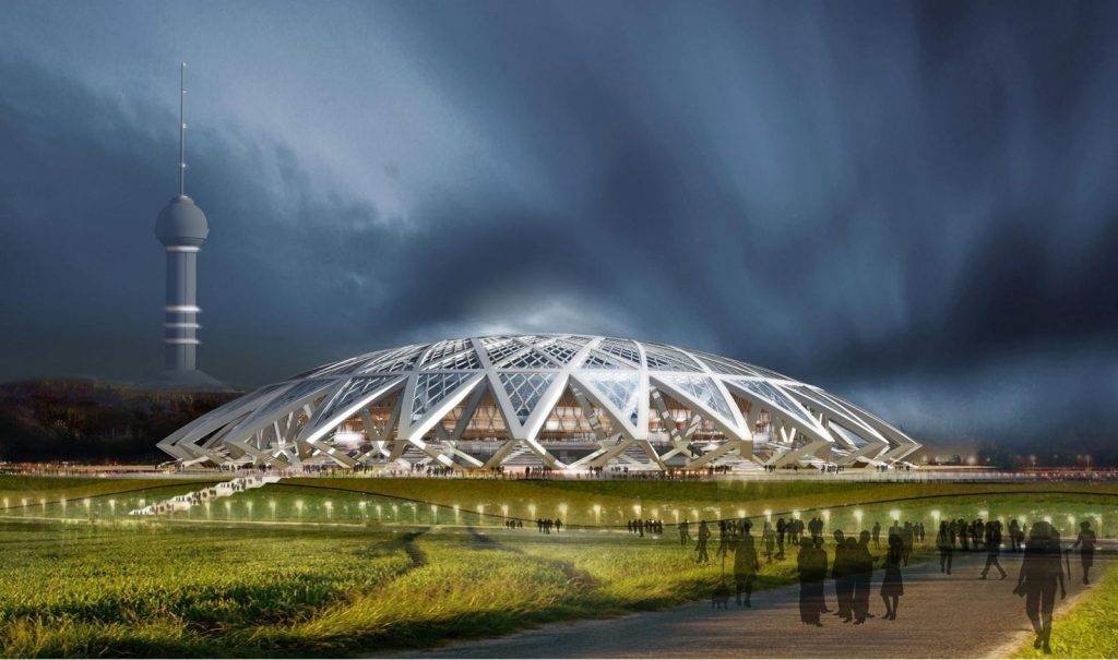 cosmos stadium samara world cup russia