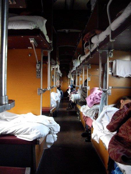 transsiberian railway cars