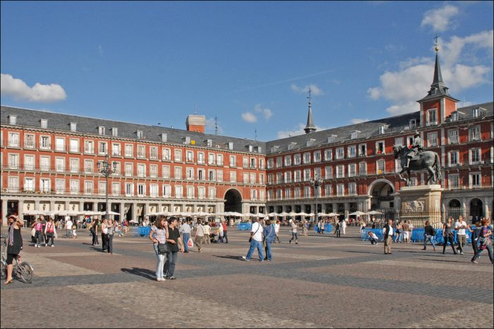 plaza mayor shopping madrid