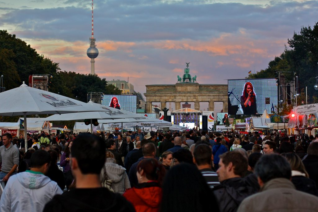 german unity day berlin