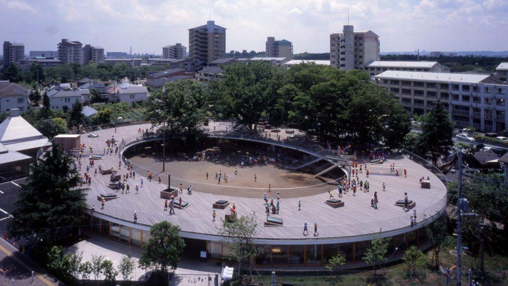 futuristic tokyo kindergarten