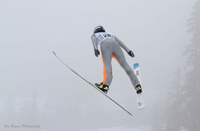 how does nordic combined work