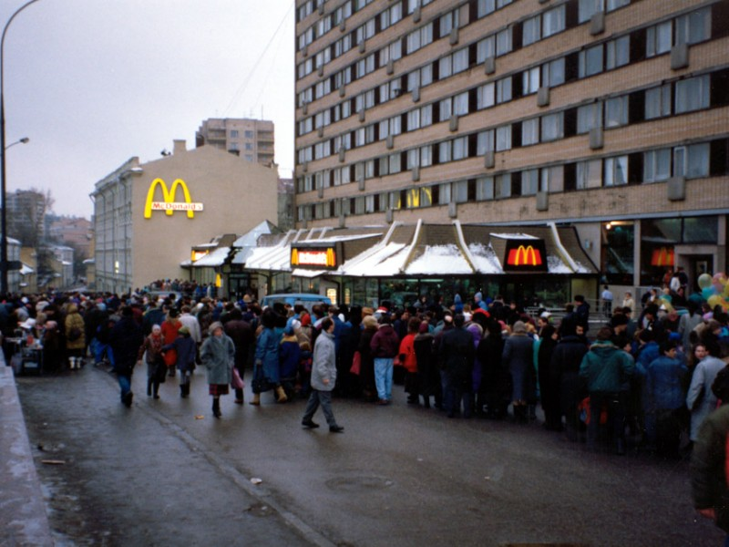 first mcdonalds in moscow