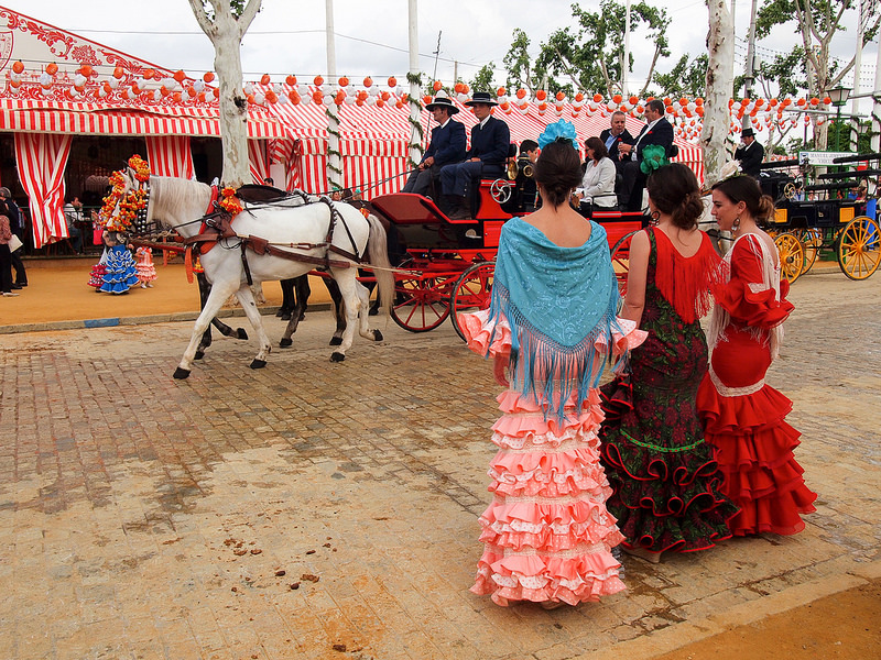 festivals in spain seville fair
