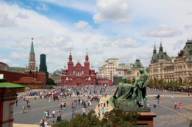 moscow sites and landmarks
