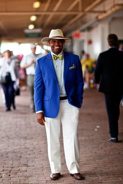 mens outfits kentucky derby