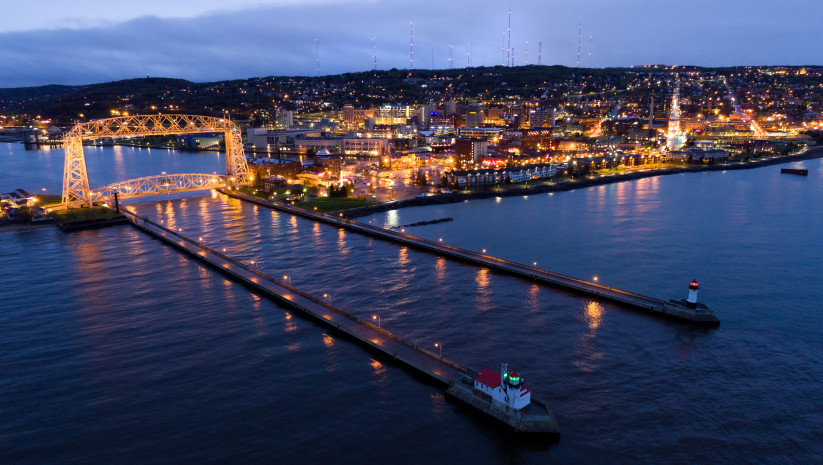 best places to travel in august duluth