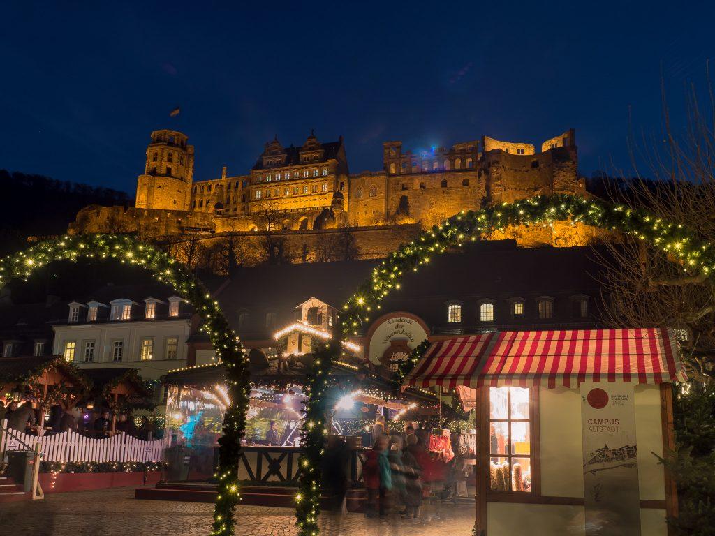 best places to travel in december heidelberg